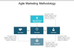 Agile Marketing Methodology Ppt Powerpoint Presentation Slides Cpb