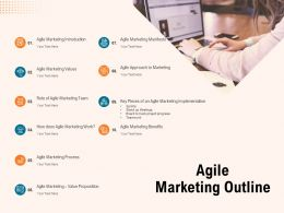 Agile Marketing Outline Ppt Powerpoint Presentation Styles