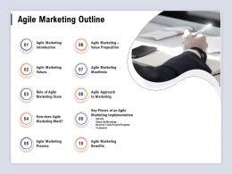 Agile Marketing Outline Value Proposition Ppt Powerpoint Presentation Outline