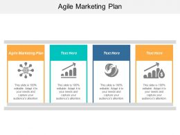 Agile Marketing Plan Ppt Powerpoint Presentation File Influencers Cpb