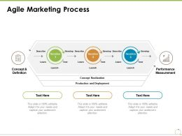 Agile Marketing Process Performance Measurement Ppt Powerpoint Presentation Styles Background Images
