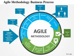 Agile Methodology Business Process Flat Powerpoint Design