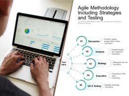 Agile Methodology Including Strategies And Testing
