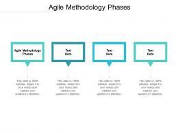 Agile Methodology Phases Ppt Powerpoint Presentation Inspiration Master Slide Cpb