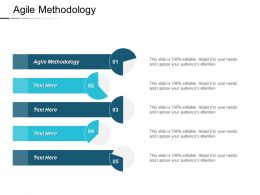 Agile Methodology Ppt Powerpoint Presentation Pictures Graphics Template Cpb