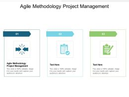 Agile Methodology Project Management Ppt Powerpoint Presentation Visual Aids Slides Cpb