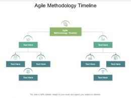 Agile Methodology Timeline Ppt Powerpoint Presentation Icon Tips Cpb