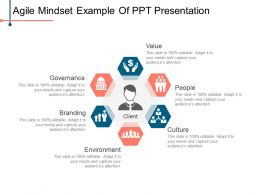 Agile Mindset Example Of Ppt Presentation