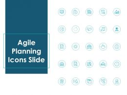 Agile Planning Icons Slide Growth Ppt Powerpoint Presentation File Shapes