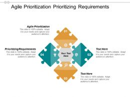 Agile Prioritization Prioritizing Requirements Marketing Bonus Revenue Budgeting Cpb