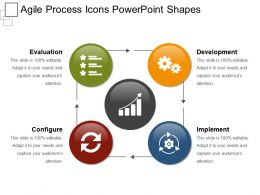 Agile Process Icons Powerpoint Shapes