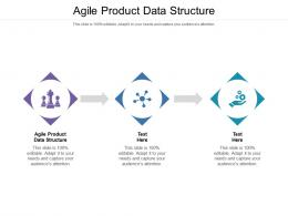 Agile Product Data Structure Ppt Powerpoint Presentation Show Demonstration Cpb