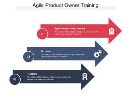 Agile Product Owner Training Ppt Powerpoint Presentation Gallery Backgrounds Cpb