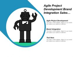 Agile Project Development Brand Integration Sales Force Tracking Cpb