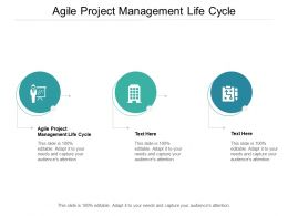 Agile Project Management Life Cycle Ppt Powerpoint Presentation Icon Cpb