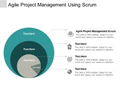 Agile Project Management Scrum Ppt Powerpoint Presentation Portfolio Outline Cpb