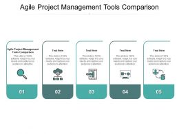 Agile Project Management Tools Comparison Ppt Powerpoint Presentation Slides Visual Aids Cpb