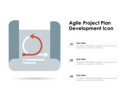 Agile Project Plan Development Icon