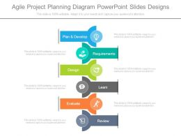 Agile Project Planning Diagram Powerpoint Slides Designs