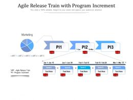 Agile Release Train With Program Increment