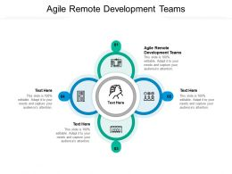 Agile Remote Development Teams Ppt Powerpoint Presentation Styles Aids Cpb