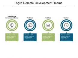 Agile Remote Development Teams Ppt Powerpoint Presentation Visual Aids Example 2015 Cpb