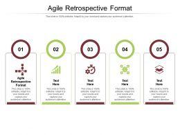 Agile Retrospective Format Ppt Powerpoint Presentation Show Structure Cpb
