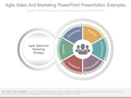 Agile Sales And Marketing Powerpoint Presentation Examples