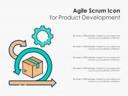 Agile Scrum Icon For Product Development