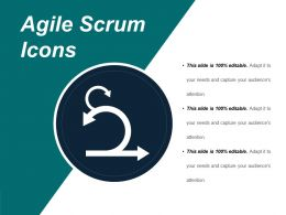 Agile Scrum Icons PowerPoint Slide