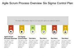 Agile Scrum Process Overview Six Sigma Control Plan Cpb