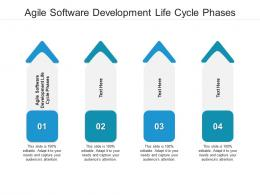 Agile Software Development Life Cycle Phases Ppt Powerpoint Presentation Infographics Icons Cpb