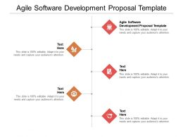 Agile Software Development Proposal Template Ppt Powerpoint Presentation File Themes Cpb