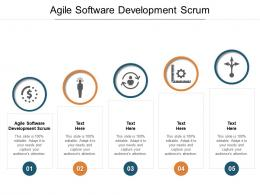 Agile Software Development Scrum Ppt Powerpoint Presentation File Samples Cpb
