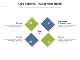 Agile Software Development Trends Ppt Powerpoint Show Cpb