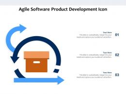 Agile Software Product Development Icon