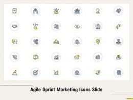 Agile Sprint Marketing Icons Slide Ppt Powerpoint Presentation Model Slideshow