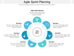 Agile Sprint Planning Ppt Powerpoint Presentation Infographics Outline Cpb