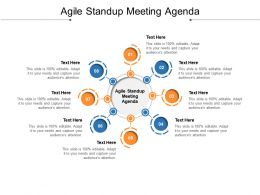 Agile Standup Meeting Agenda Ppt Powerpoint Presentation Icon Objects Cpb