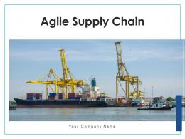 Agile Supply Chain Average Distribution Statistical Analysis Processing Sales