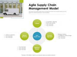 Agile Supply Chain Management Model