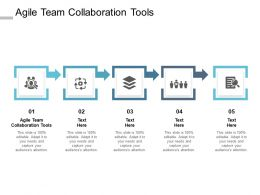 Agile Team Collaboration Tools Ppt Powerpoint Presentation Slides Files Cpb