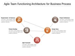 Agile Team Functioning Architecture For Business Process