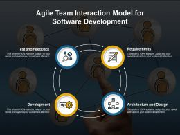 Agile Team Interaction Model For Software Development
