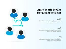 Agile Team Scrum Development Icon