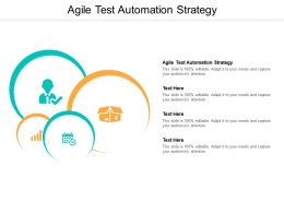 Agile Test Automation Strategy Powerpoint Presentation Styles Introduction Cpb
