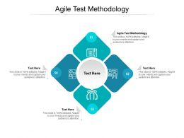 Agile Test Methodology Ppt Powerpoint Presentation Layouts Slide Cpb