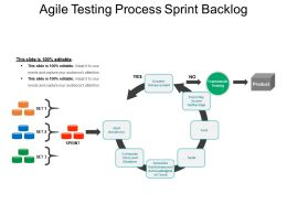 Agile Testing Process Sprint Backlog PPT Design Templates