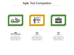 Agile Tool Comparison Ppt Powerpoint Presentation Professional Influencers Cpb