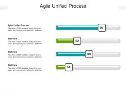 Agile Unified Process Ppt Powerpoint Presentation Outline Design Ideas Cpb
